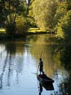 punting on the river Cherwell