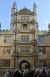 Bodleian Library Oxford  - Tower of the five orders